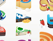 Freebies Released: Yammy Social Media Icons Set
