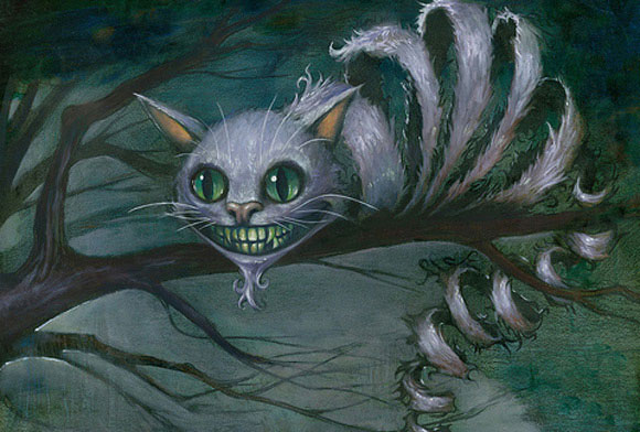 Cheshire Cat by tioandria