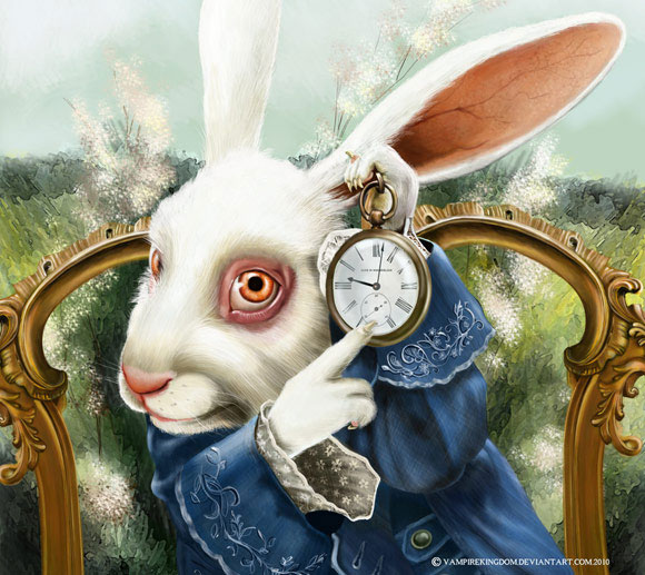 The White Rabbit by vampirekingdom