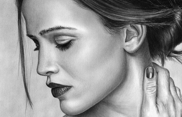 Celebrity Portrait Drawings - Drawing Pencil Sketch