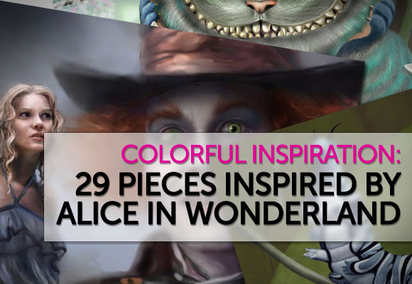 29 Pieces Inspired by Alice In Wonderland