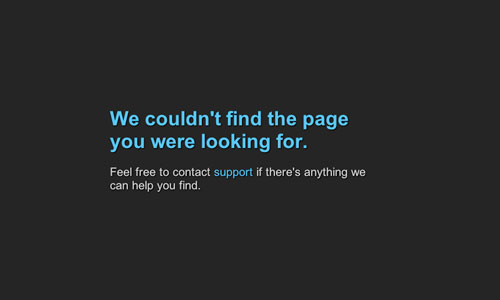 How to Deal With 404 Error Pages