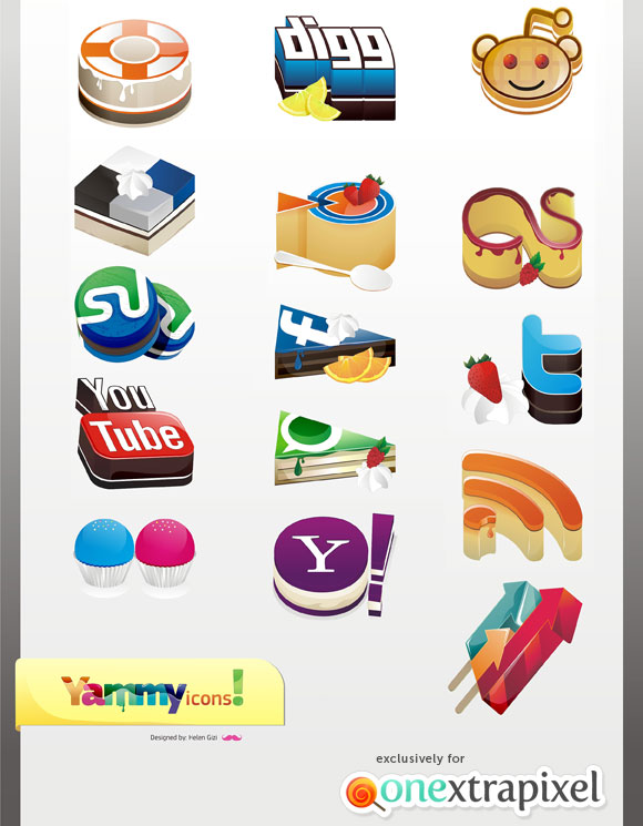 Yammy Icons