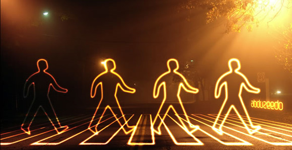 Glowing Light Painting Effect