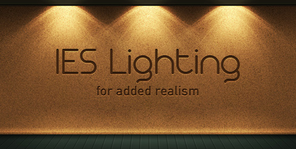 Create a Realistic IES Lighting Effect