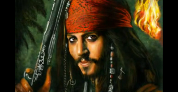 Captain Jack Sparrow – Pirates of the Caribbean