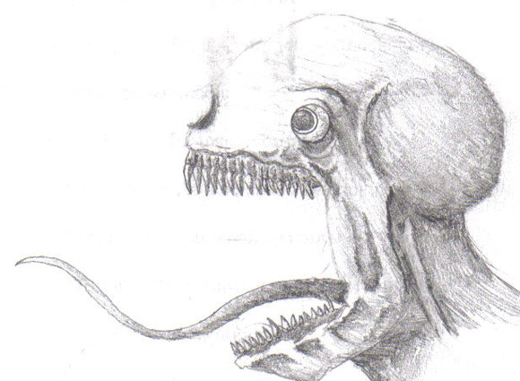 66 Pieces Of Creepy Yet Inspiring Art on scary cartoon monsters to draw
