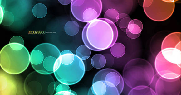 Colorful Bokeh Effect in Pixelmator