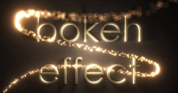 Bokeh Effect in 3ds Max
