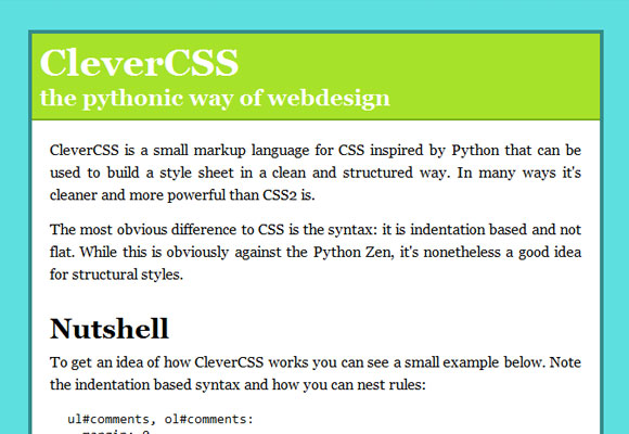 CleverCSS