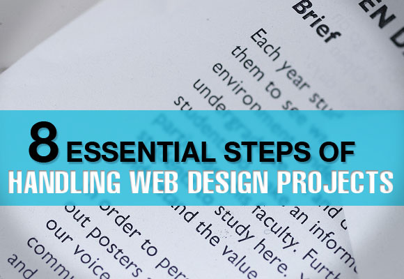 8 Essential Steps of Handling Web Design Projects