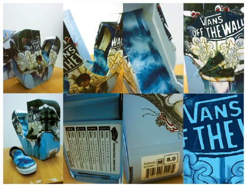 Batik Vans Packaging Outcome