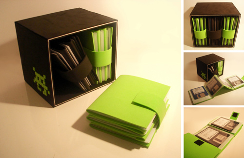 3D Project 2: Floppy Disc Box