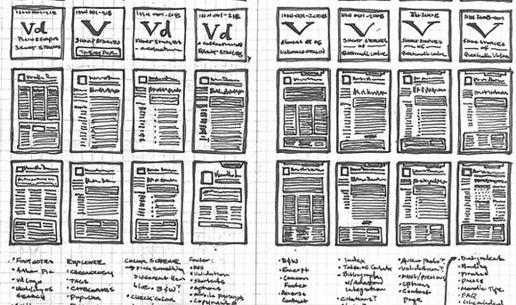 Vanilla Draft Wireframes