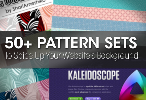 50+ Pattern Sets To Spice Up Your Website's Background