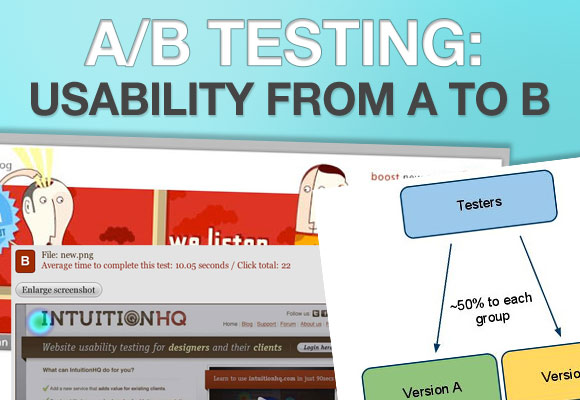 A/B Testing: Usability From A to B