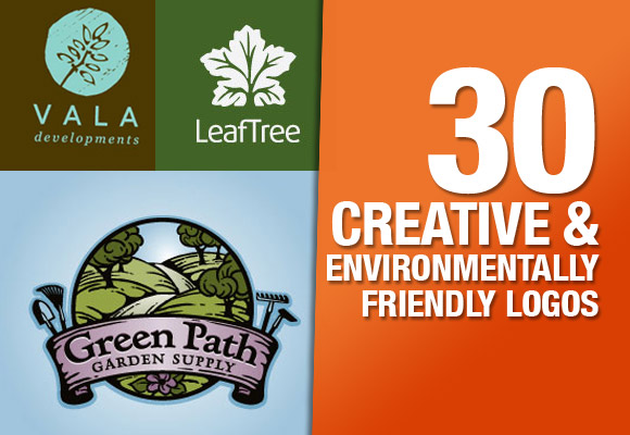 30 Creative & Environmentally Friendly Logos