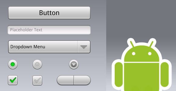 Google Android GUI (PSD)