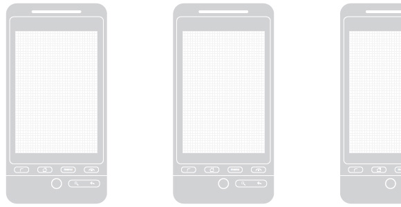Android Wireframe Templates