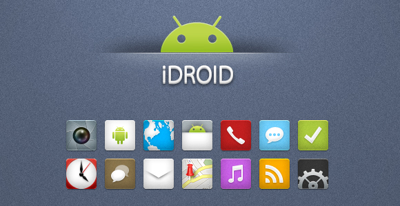 iDroid Icons for Android