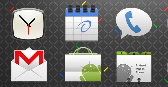 Android Application Icons Set