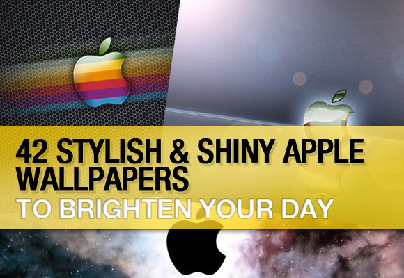 42 Stylish and Shiny Apple Wallpapers to Brighten Your Day