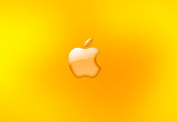 Apple Gold Wallpaper