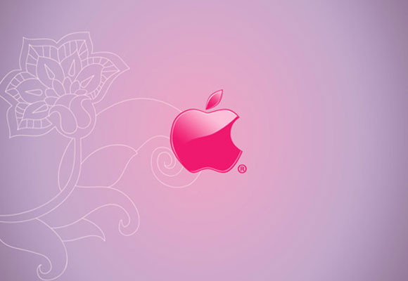 Pink Mac Apple Wallpaper