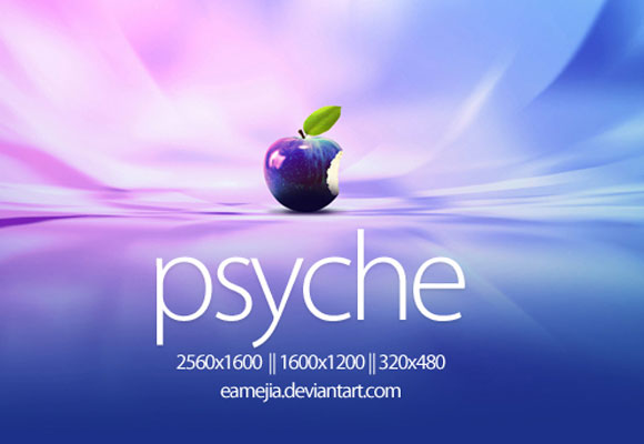 Psyche Apple Wallpaper