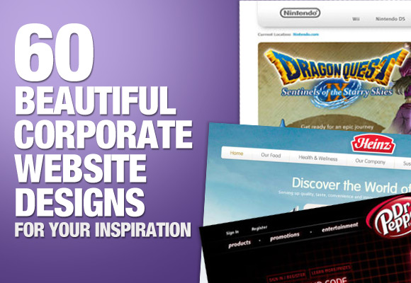60 Beautiful Corporate Website Designs for Your Inspiration