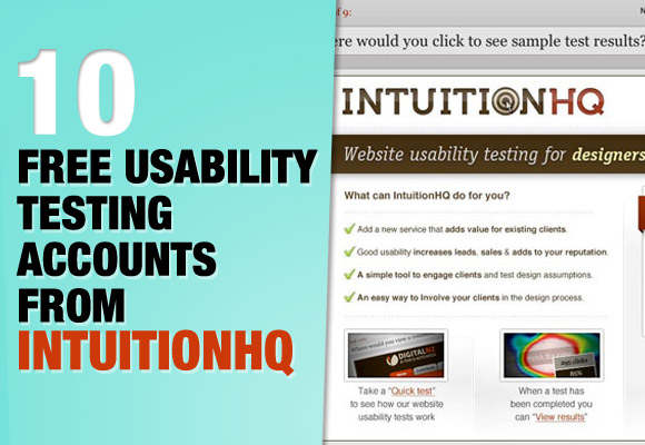 10 Free Usability Testing Accounts From IntuitionHQ