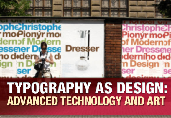Typography as Design: Advanced Technology and Art