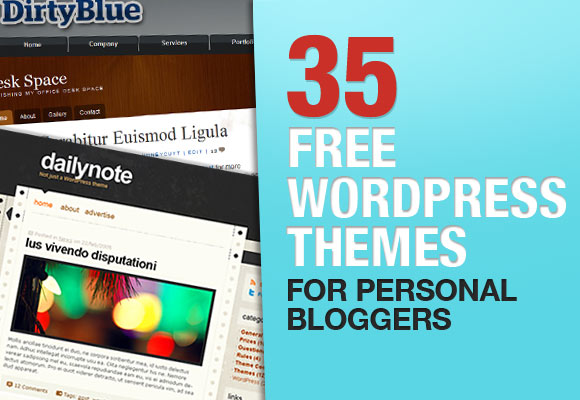 35 Free WordPress Themes For Personal Bloggers