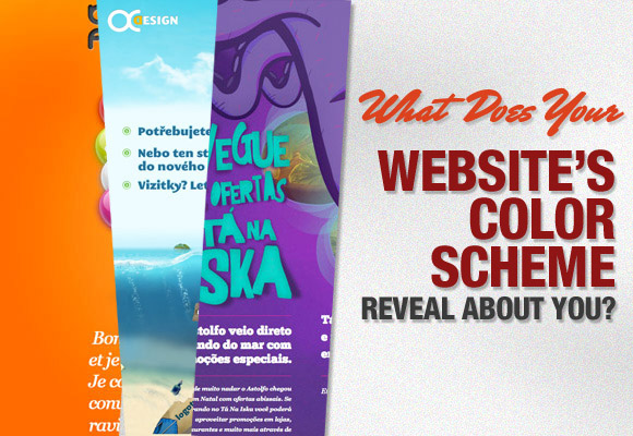 What Does Your Website's Color Scheme Reveal About You?