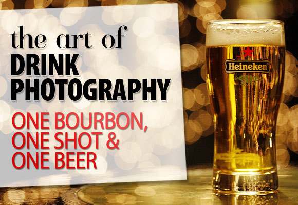 The Art of Drink Photography: One Bourbon, One Shot and One Beer