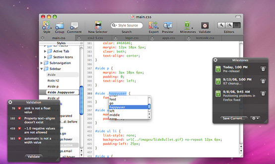CSSEdit Mac App