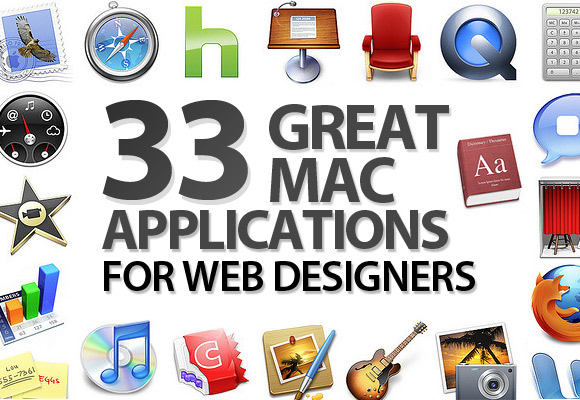 33 Great Mac Applications for Web Designers