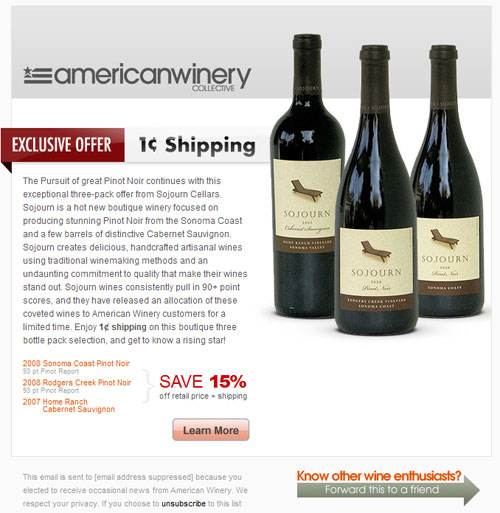 American Winery Newsletter