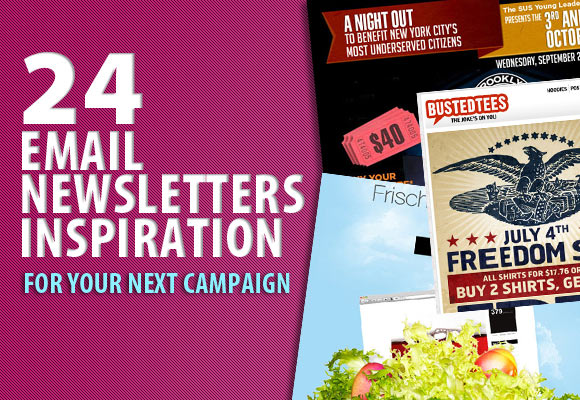 24 Email Newsletters Inspiration For Your Next Campaign