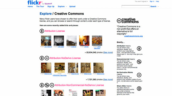 Flickr – Creative Commons