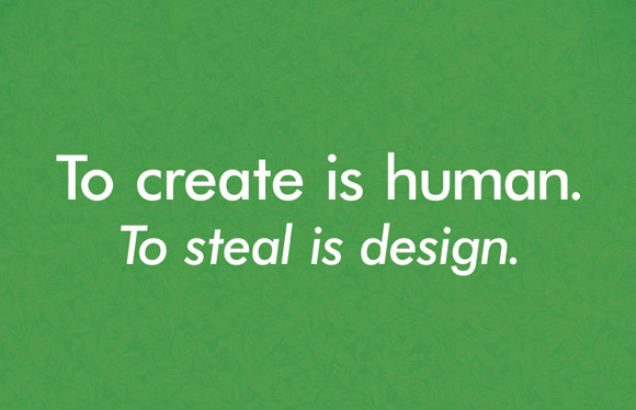 To create is human