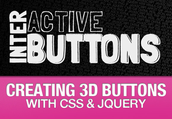 Creating 3D Buttons with CSS & jQuery