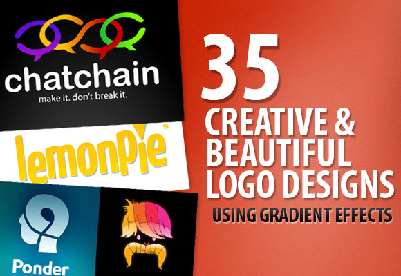 35 Creative and Beautiful Logo Designs Using Gradient Effects