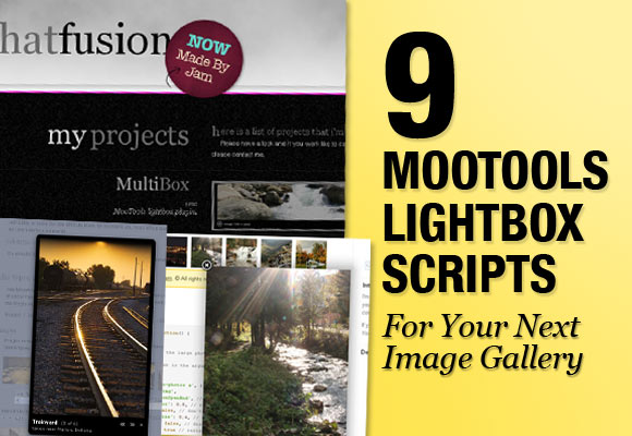 9 Mootools Lightbox Scripts For Your Next Image Gallery