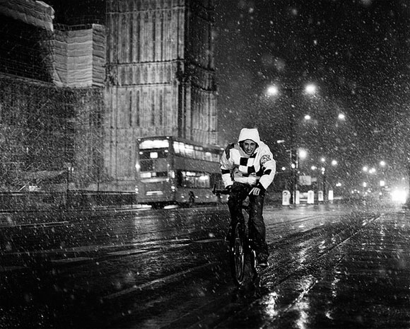 London When It Snows - Westminster