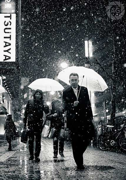 Shibuya In The Snow
