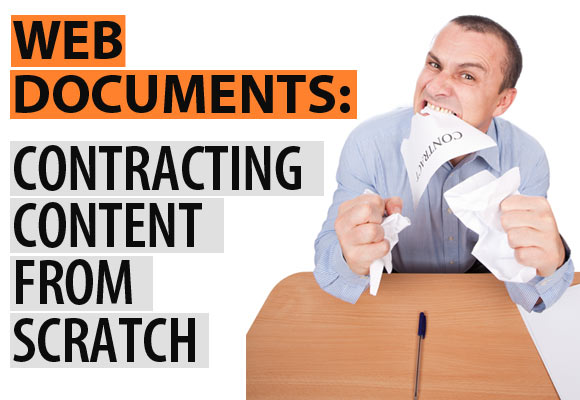 Web Documents: Contracting Content from Scratch