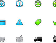 Free E-Commerce Icon Set for all Online Businesses