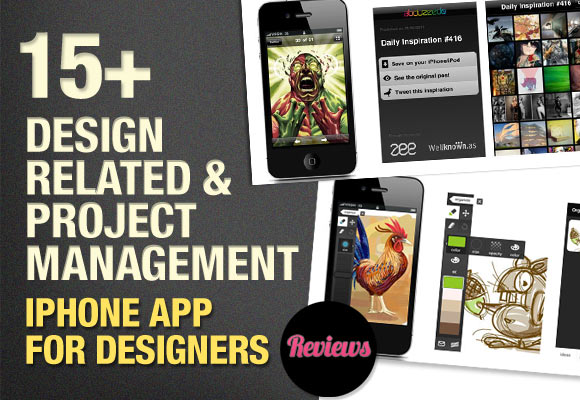 15+ Design Related & Project Management iPhone App for Designers - Reviews