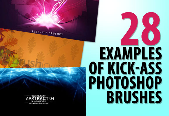 28 Examples of Kick-Ass Photoshop Brushes